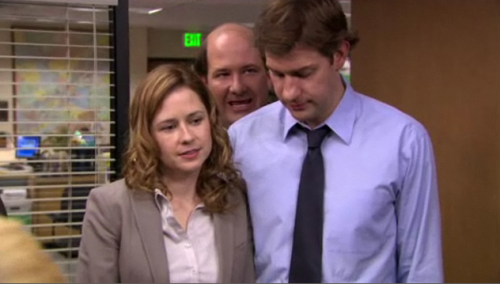"""But THEN I thought, Pam doesn't NEED padding."""