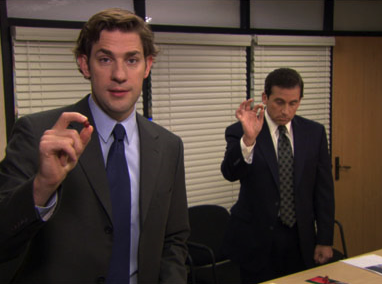Jim knows this is the kind of thing he used to mock Michael for, right?